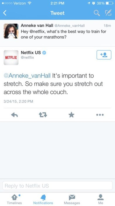 Pro Tips for Netflix Marathons, Straight From the Source