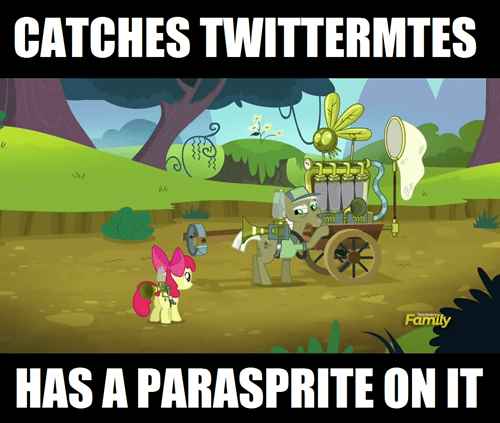 pest pony parasprite twitter mites - 8482369024