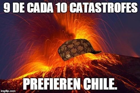 catastrofes en chile