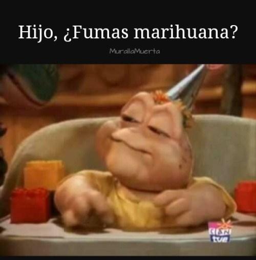 fumas marihuana