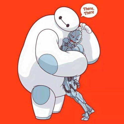 superheroes-avengers-marvel-ultron-baymax-bro-robot-hug