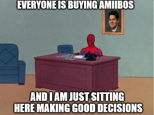 and im just sitting here amiibo nintendo - 8482888960