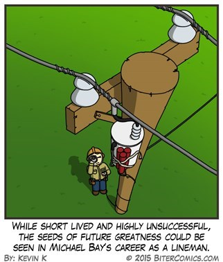 Michael Bay power lines web comics - 8482948096