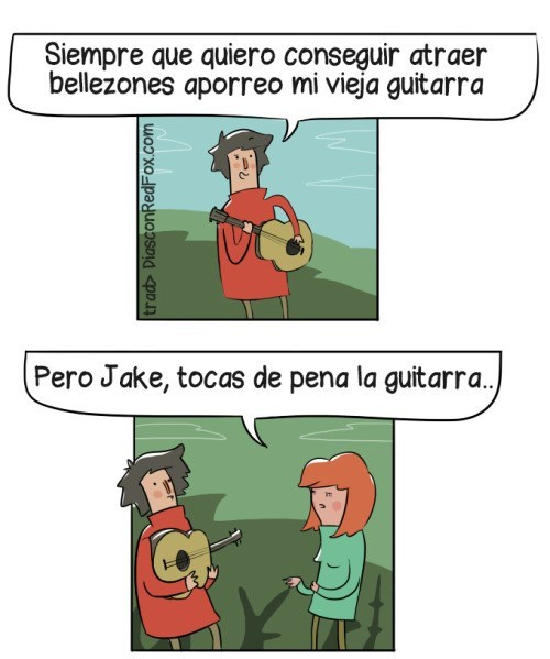 atraer con guitarra