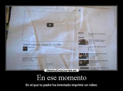 imprimir video