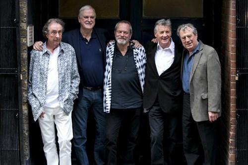Monty Python reunites
