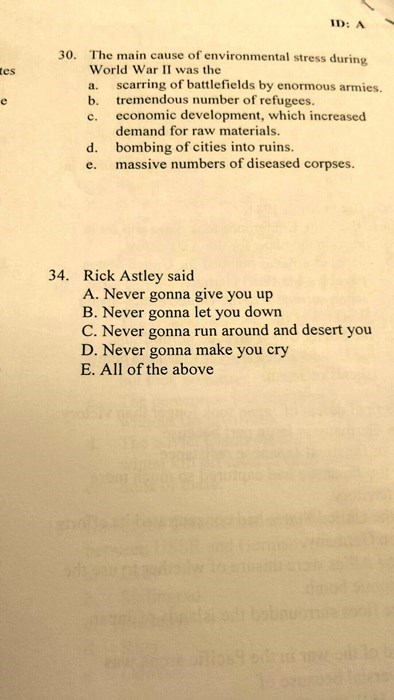 funny-school-test-pic-rick-roll