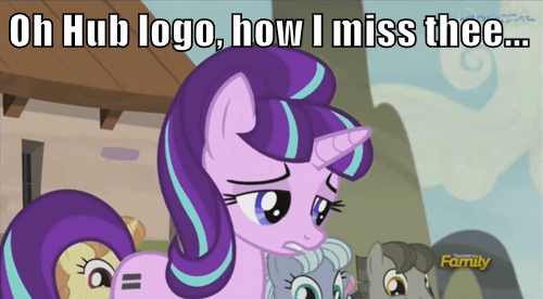 starlight glimmer hub logo rip in pieces - 8483684608