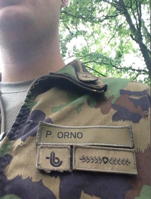 soldado porno