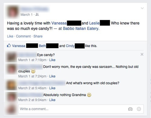 grandma,parentbook,mom,burn,failbook