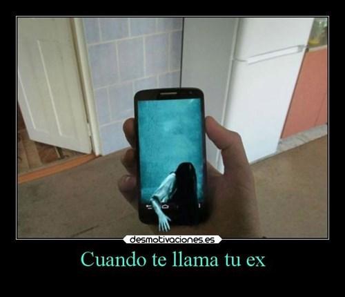 te llama tu ex