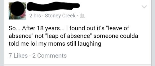 funny-facebook-fail-leave-leap-of-absence