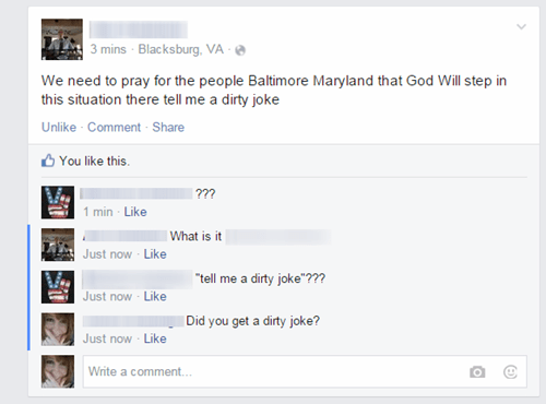 whoops accidental sexy baltimore pray - 8484655104