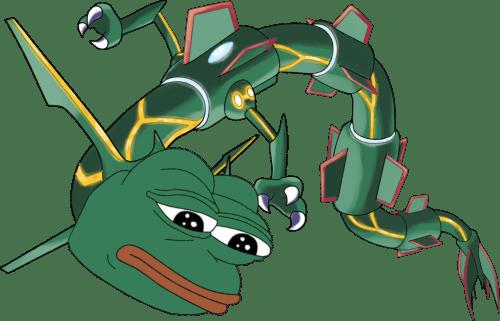 pokemon memes pepe rayquaza