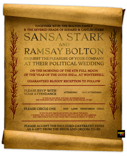 sansa stark Game of Thrones season 5 ramsay bolton - 8485096704