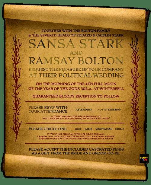sansa stark Game of Thrones season 5 ramsay bolton - 8485096704