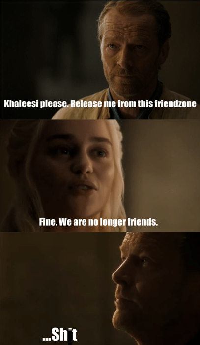 Game of thrones memes season 5 Should have kept his mouth shut.