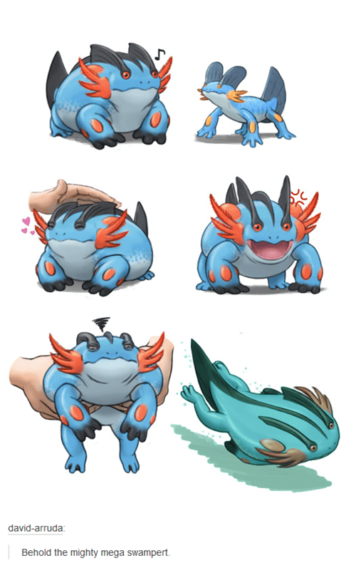 Fan Art swampert - 8485230592