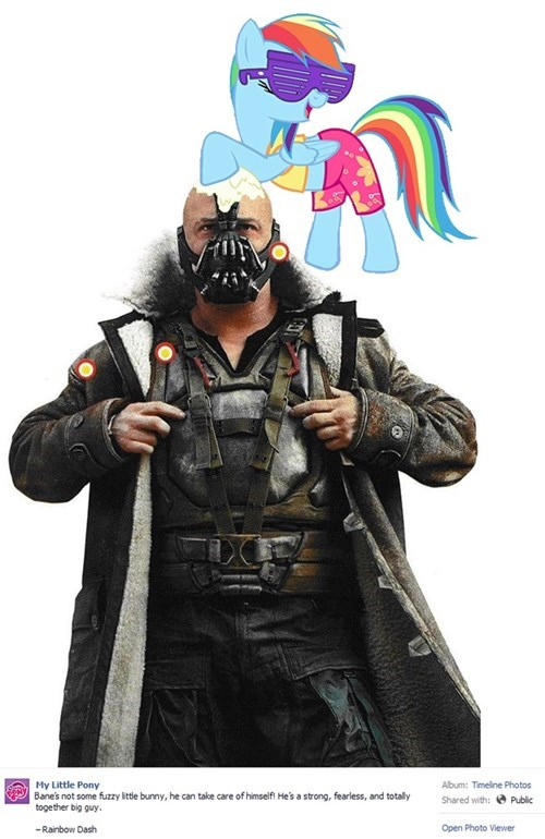 bane,sunscreen,rainbow dash