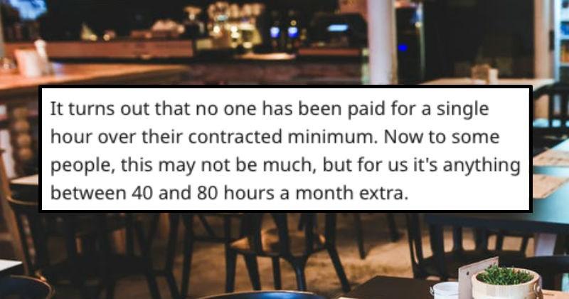 boss manager server revenge work restaurant pay bartender story cheap money service industry - 8485381