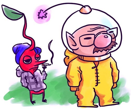 Olimar breaking bad pikmin walter white - 8485670400