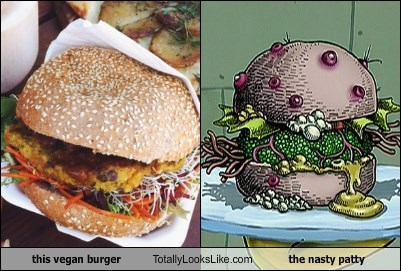 SpongeBob SquarePants totally looks like cartoons burgers