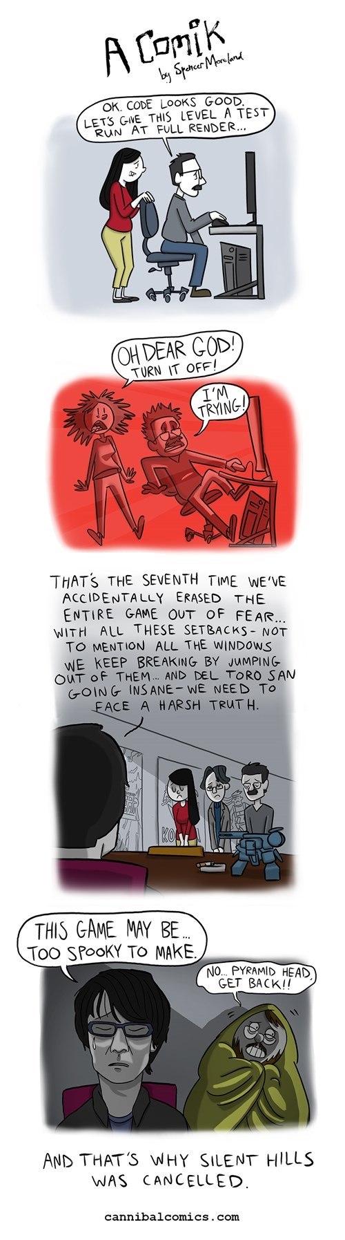 funny-web-comics-the-comic-that-explains-why-silent-hills-was-cancelled