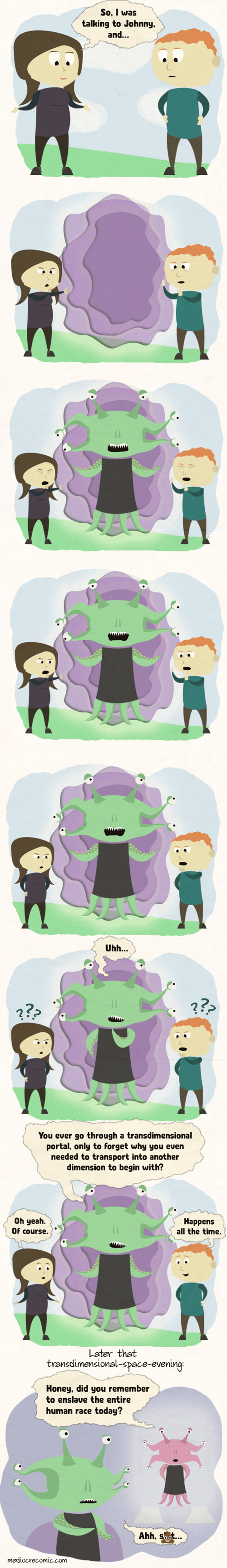 Aliens,sad but true,web comics