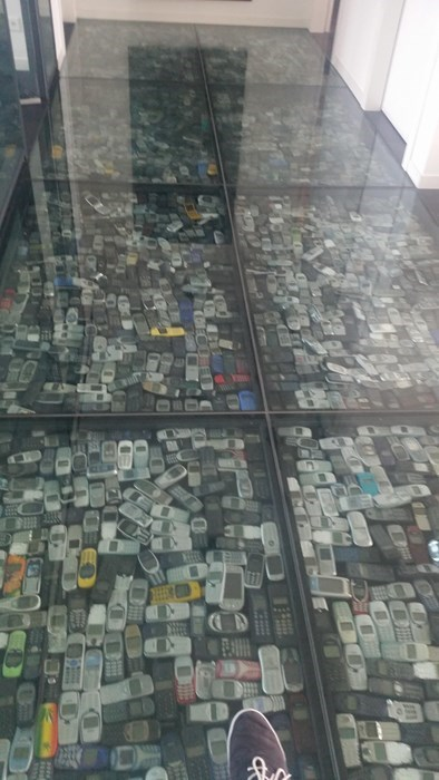 office floor phone image That's Where My Old Phone Went