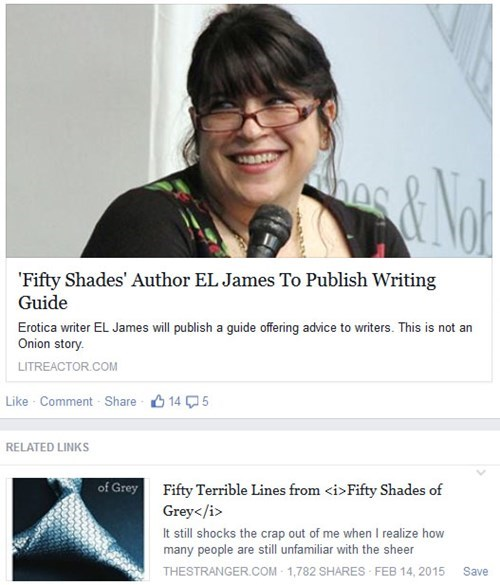 fifty shades of grey suggestion juxtaposition