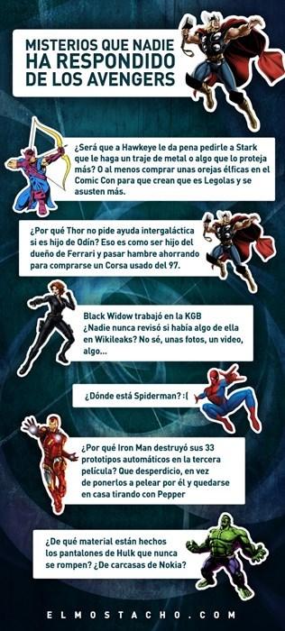 pregunta avengers