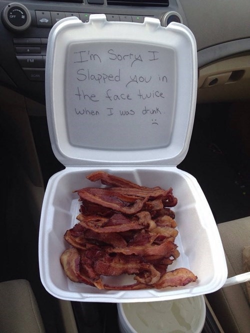 bacon apology image I forgive you