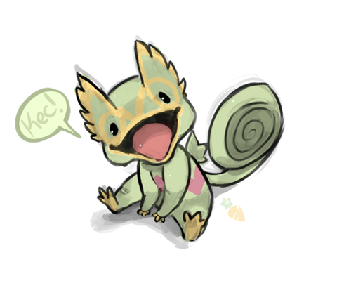 pokemon memes cute kecleon fan art