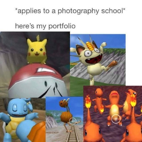 pokemon memes pokemon snap photography portfolio