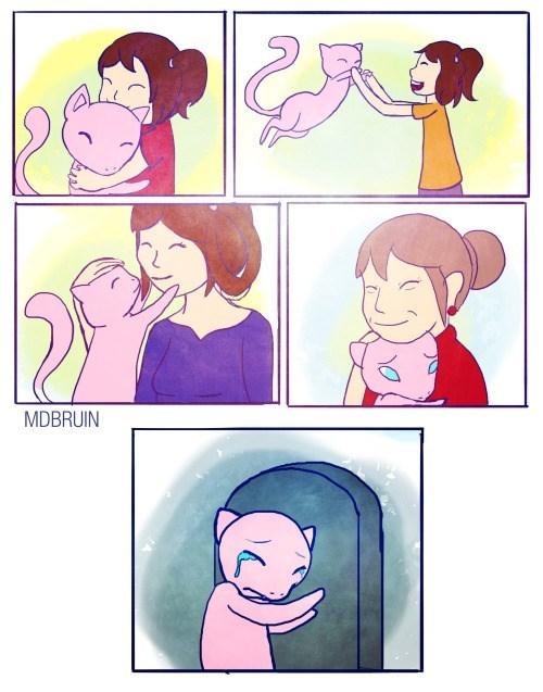 pokemon memes sad mew