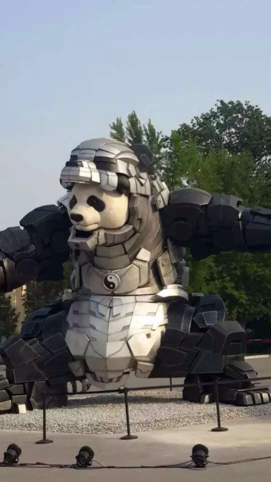 epic-win-pic-china-panda-armor-statue