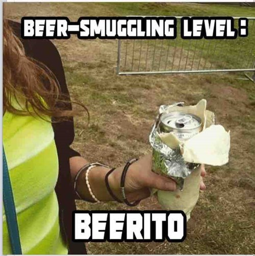 beer burrito image When You'd Prefer to Drink Your Dinner