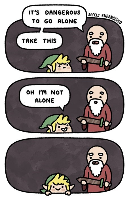legend of zelda swords video games web comics - 8486935552
