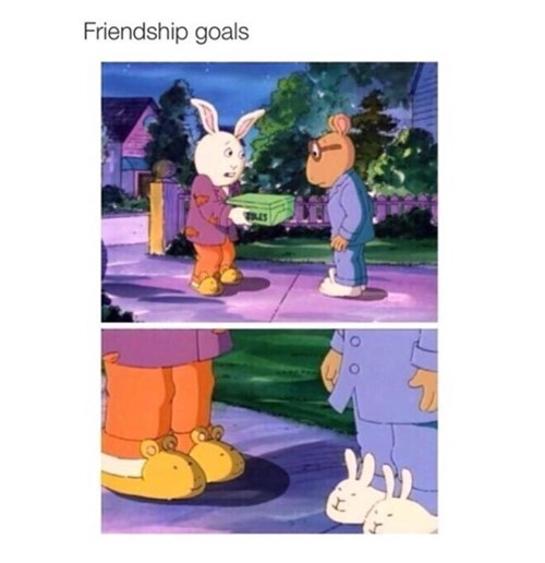 arthur cartoons friendship goals