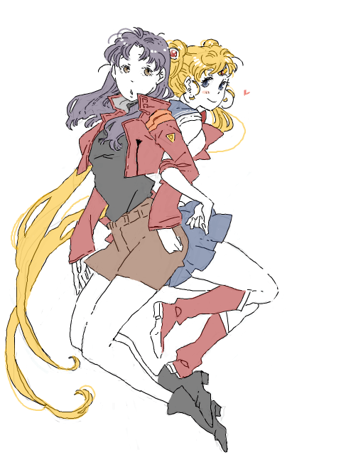 crossover Fan Art evangelion sailor moon - 8487236608
