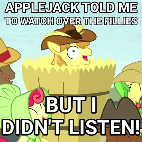 i didn't listan applejack braeburn - 8487333632