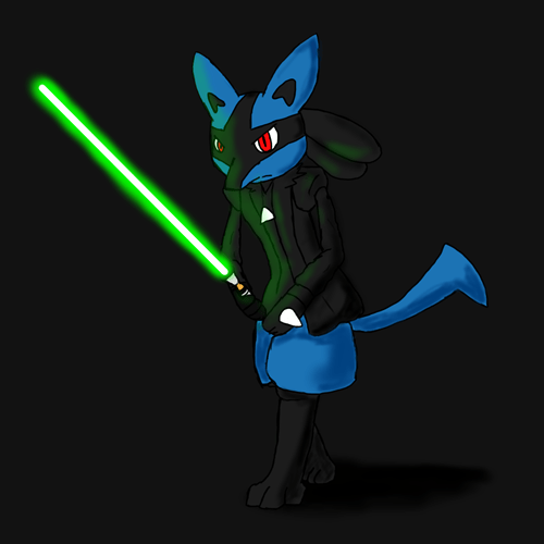 star wars,lucario,Fan Art