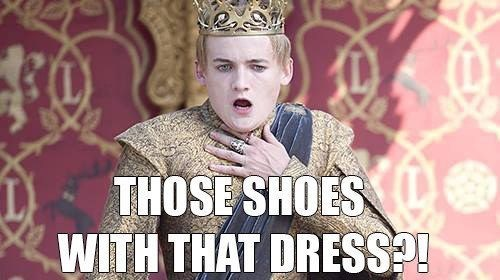 Game of thrones memes king joffrey died of shock.