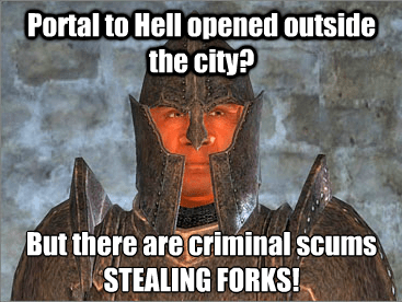 video-games-guards-oblivion-have-their-priorities-order