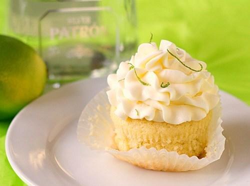 drinking recipe cupcakes Baked Margarita