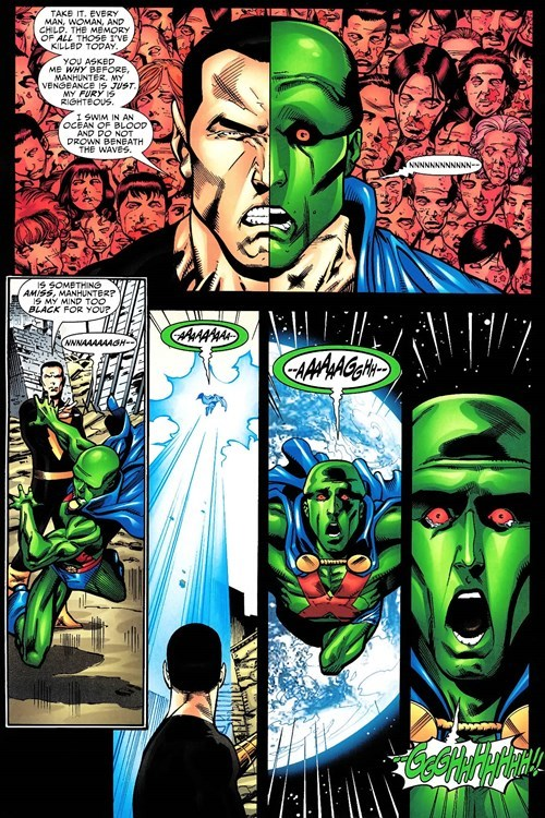 Straight off the Page black adam martian manhunter - 8488291584