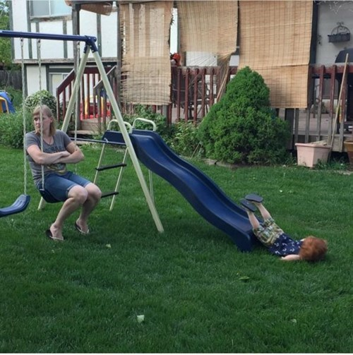funny-parenting-fail-playground-slide
