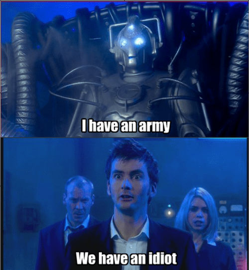 10th doctor cybermen mickey - 8488476672