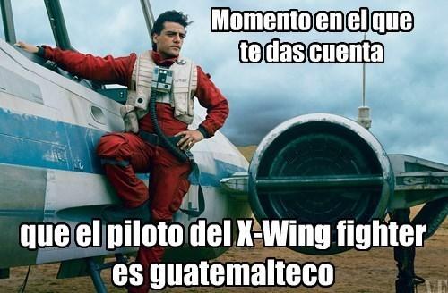 Oscar Isaac x-wing
