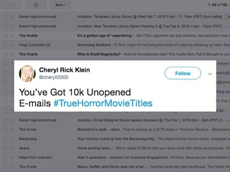 Tweets of the worst horror movies possible